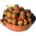 Olives Bariole, seasoned in oil, 1.5kg net