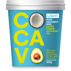 Cocavo-Coconut and Avocado cooking oil- Light 400g