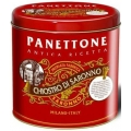 Panettone Red Elegance, 1kg Tin