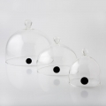 Aladin Glass Cloche with valve, 13cm diameter - set of 6 pieces