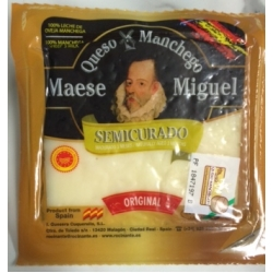 Manchego Semicurado, 3 month 200g Wedge **AWARD WINNING