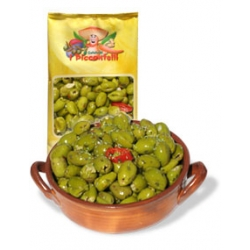 Olives Sweet Green, Mammoth, Unpitted, in brine, 1.5kg net